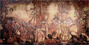 Festival ecuatoriano, Camilo Egas, 1932