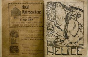 Revista Hélice, grabado de Camilo Egas, 1926
