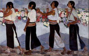 Las Floristas, Camilo Egas, 1916