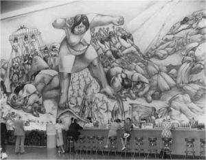 Mural, Camilo Egas, Feria mundial de New York, 1938.