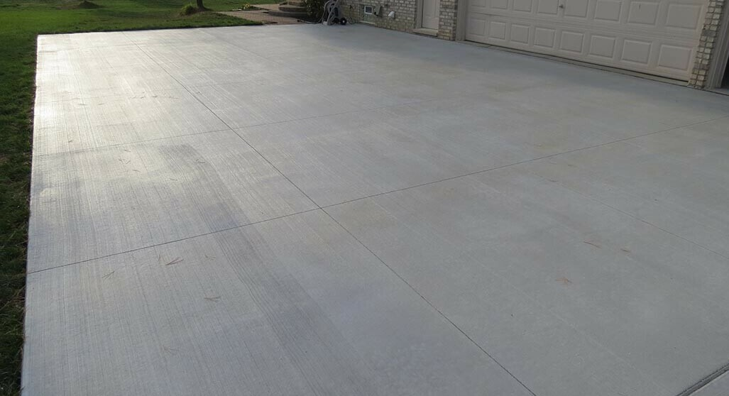 New Concrete Driveway cement driveway Pros Of A Cement Driveway Canton Complete 15 e1577476215801