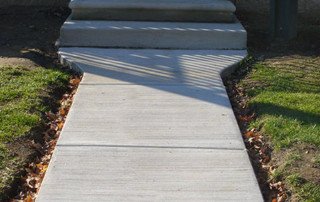 New Concrete Walkway and Stairs