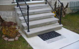 New Concrete Stairs walkway Walkway / Sidewalk P1010638 320x202