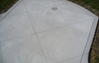 New Cement Patio