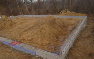 House Foundation Preparation garage Garage Floors / Foundations Plymouth 2 320x202