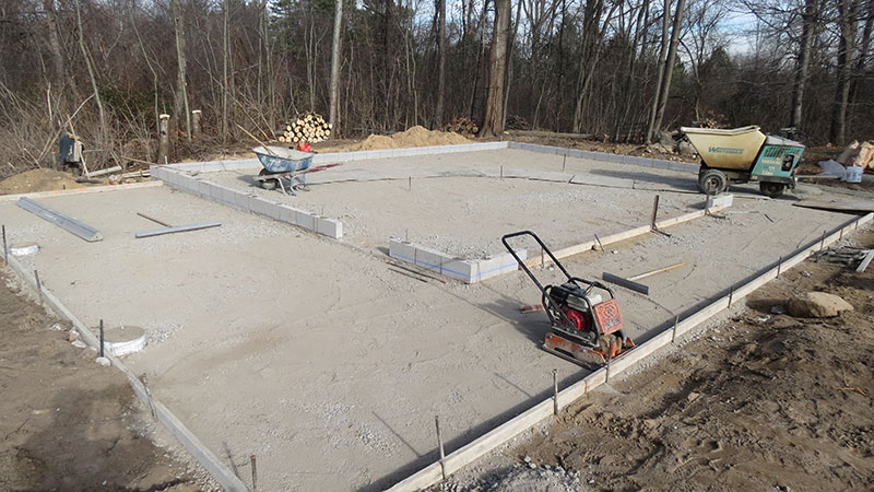 Foundation Preparation garage floors and foundations Garage Floors & Foundations – Basics Plymouth 3