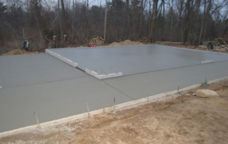 New House Foundation garage Garage Floors / Foundations Plymouth 4 320x202
