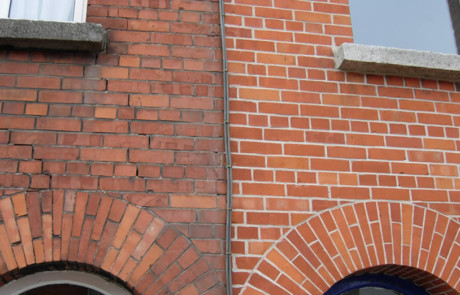 Tuck Pointing Before & After brick Brick Work & Tuck Pointing tuckpointing example 460x295