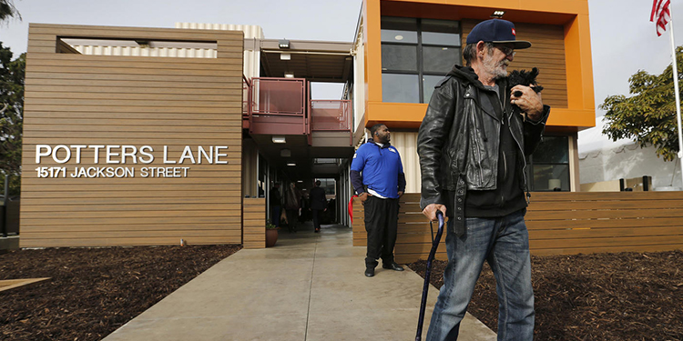 OC Shipping Container Project for Veterans Dedicated