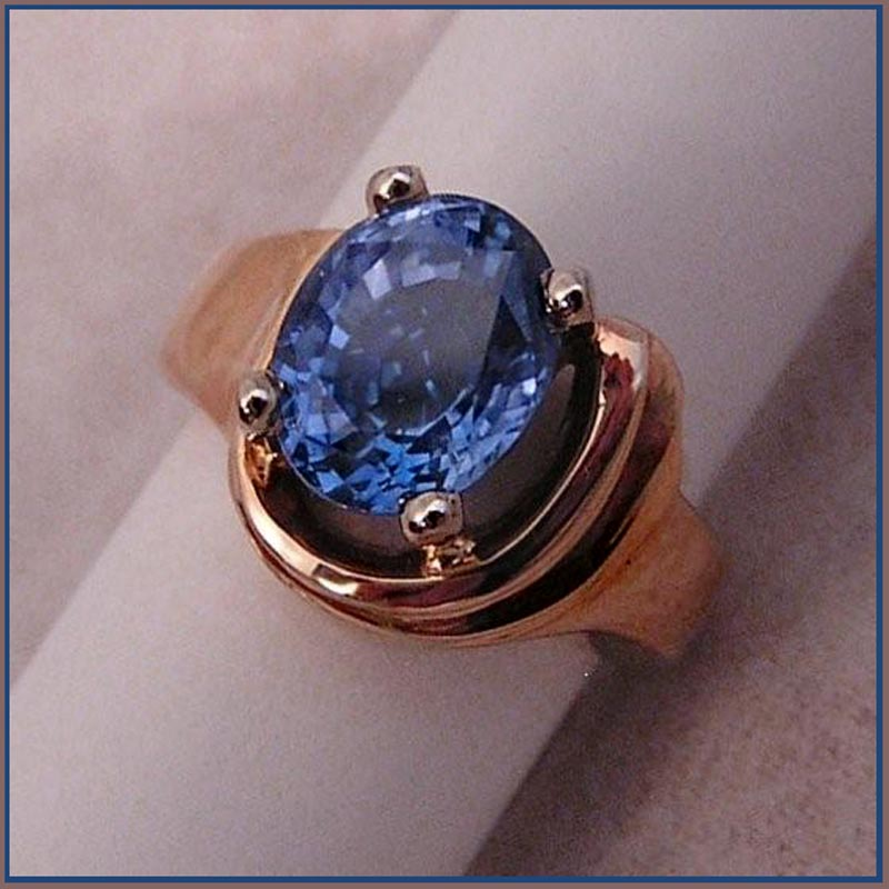 4 carat ceylon sapphire
