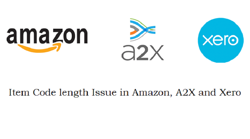Amazon Xero A2X Item Code Length Issue