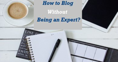 How to start blogging without being an expert