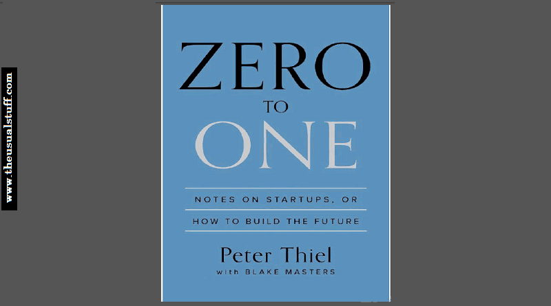 Zero to one - Peter Thiel - Review