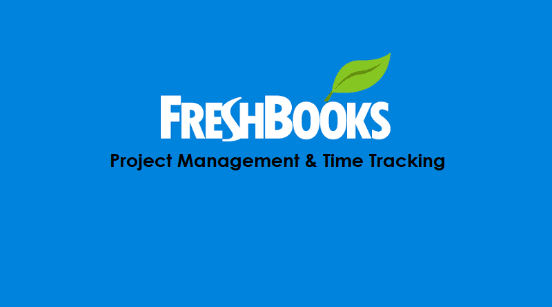 FreshBooks Project Management and Time Tracking