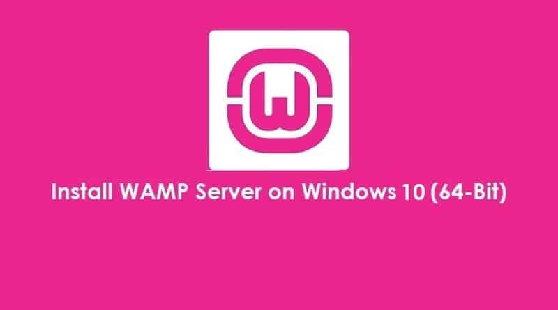 How to Install WAMP server in Windows 10 64 bit