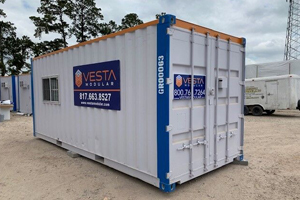 On-Ground Container Office
