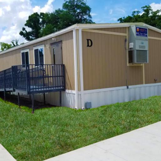 single classroom modular building
