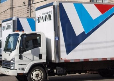 Dynamic Montreal Movers Trucks