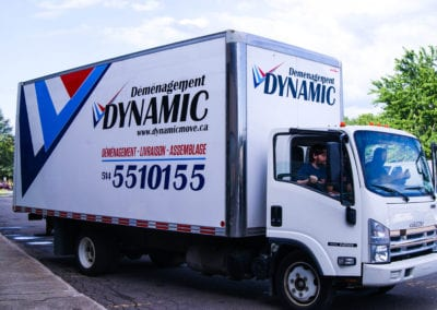 Dynamic Movers Vehicles at work