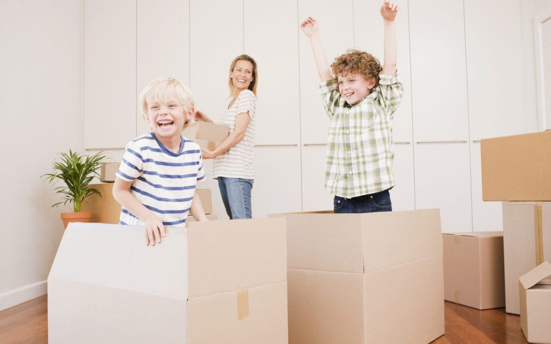 Preparing Your Kids for Moving