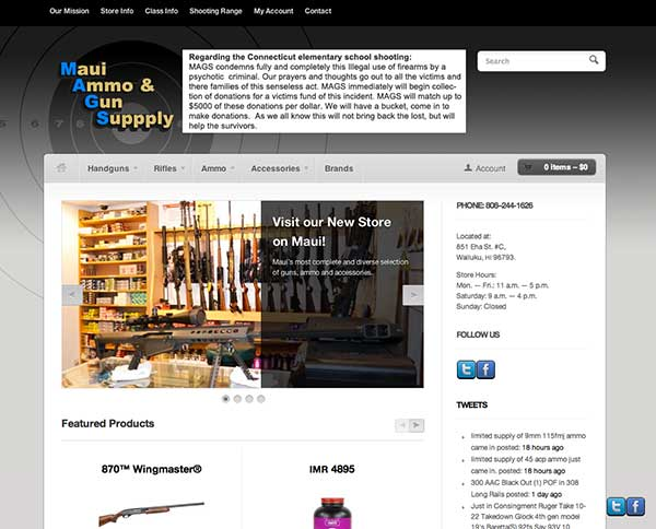Maui Ammo and Gun Supply