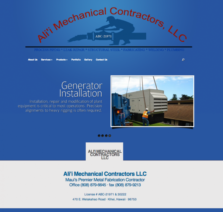Alii Mechanical Contractors LLC