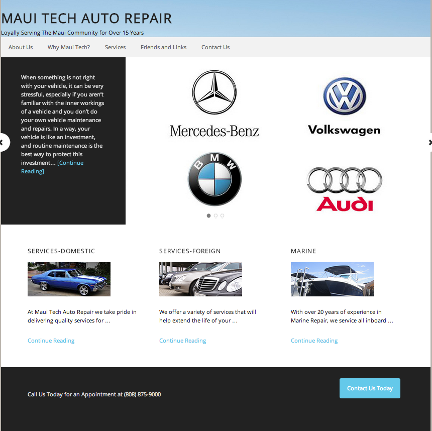 Maui Tech Auto Repair