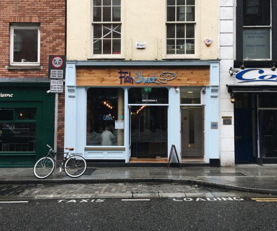 Fish Shack Dublin Parliament Street Sarenabee