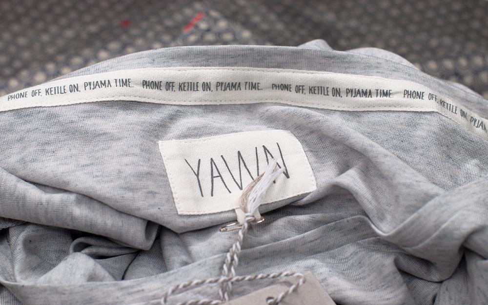 Yawn London Dove Grey Jersey T-shirt Sarenabee