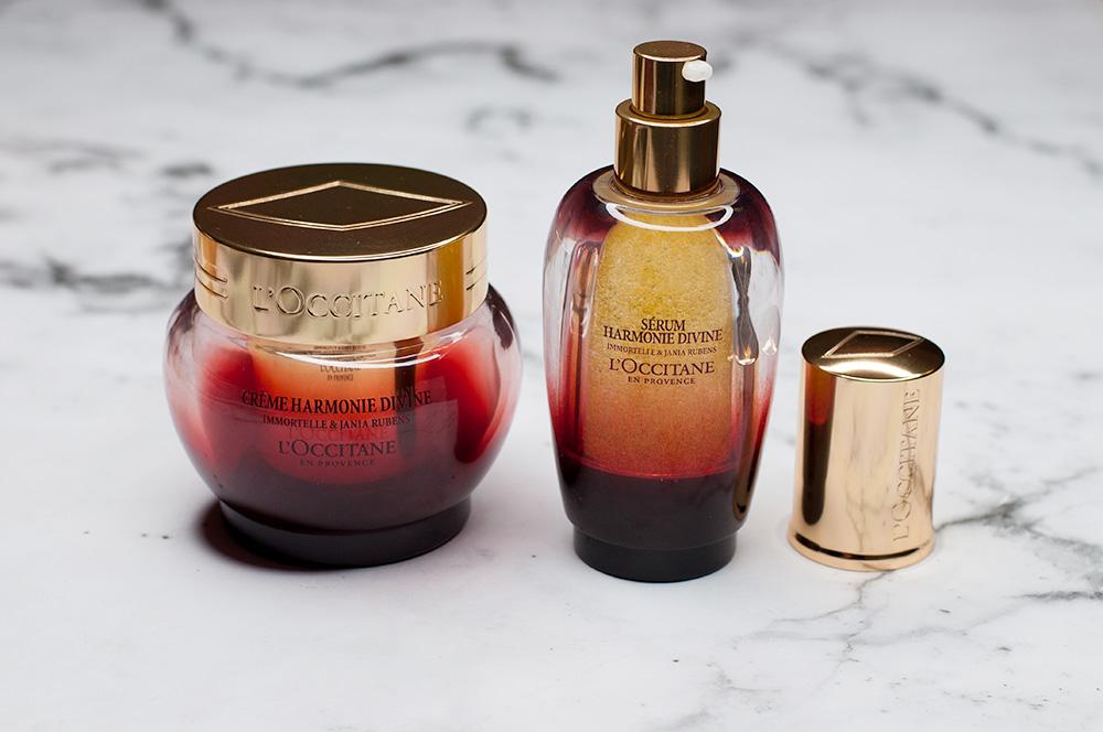 Loccitane Divine Harmony Product Serum Cream Sarenabee