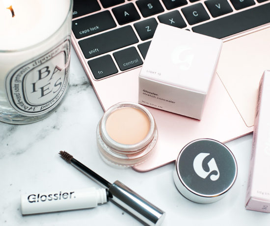 Glossier Makeup - Stretch Concealer and Boy Brow Makeup Review via Sarenabee.com