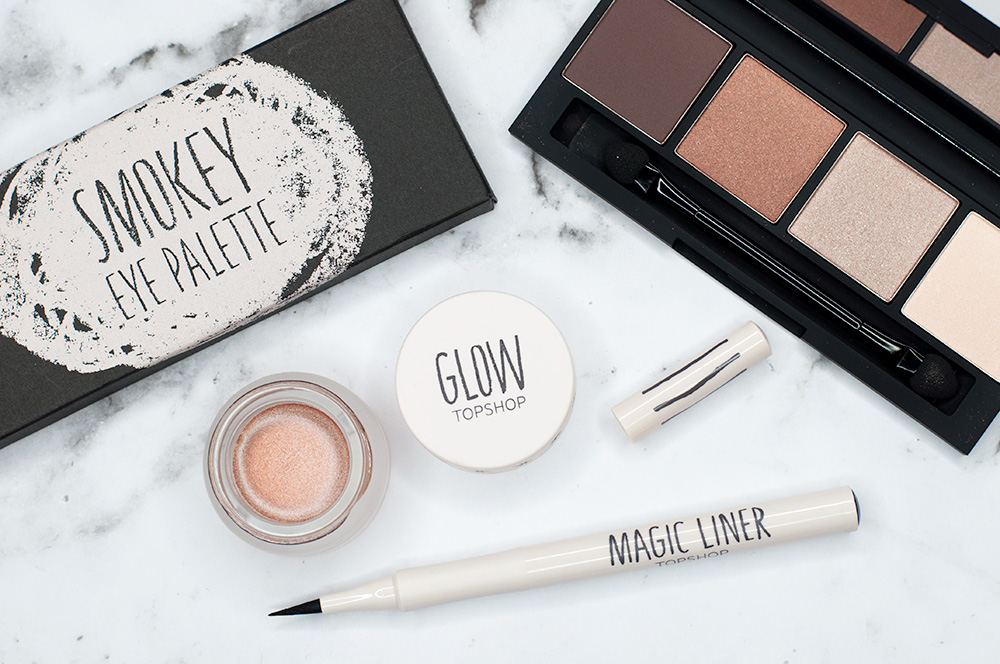 An Unexpected Beauty Haul: Top Shop Flatlay Makeup via Sarenabee.com