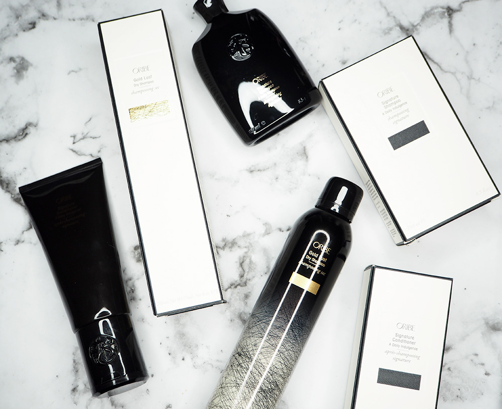 A Luxe Haircare Routine featuring Oribe by Sarenabee.com