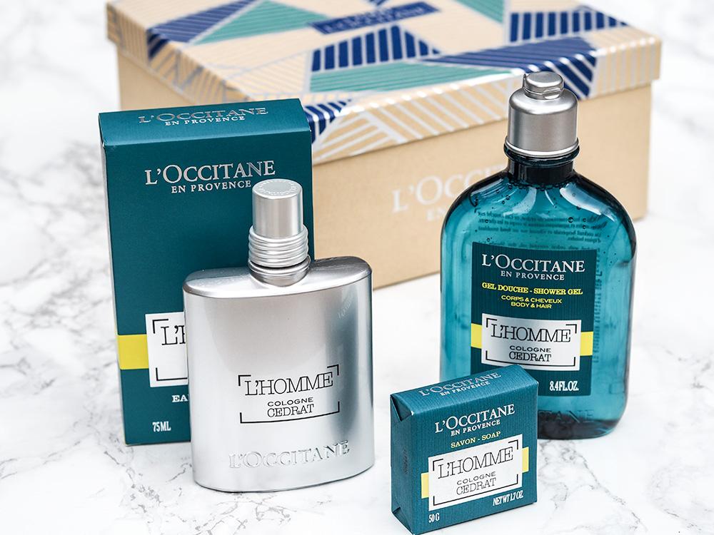 Father's Day Gift Guide Featuring L'Occitane via Sarenabee.com