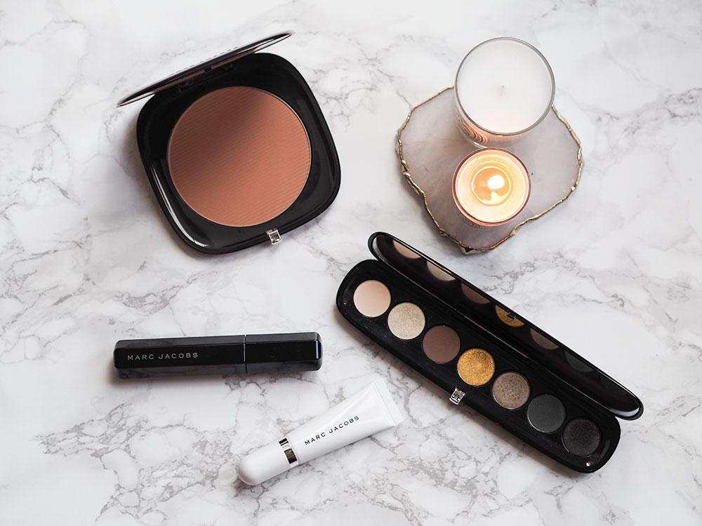 Marc Jacobs Beauty Haul: Mascara, Bronzer, Eyeshadow Palette and a Primer via Sarenabee.com