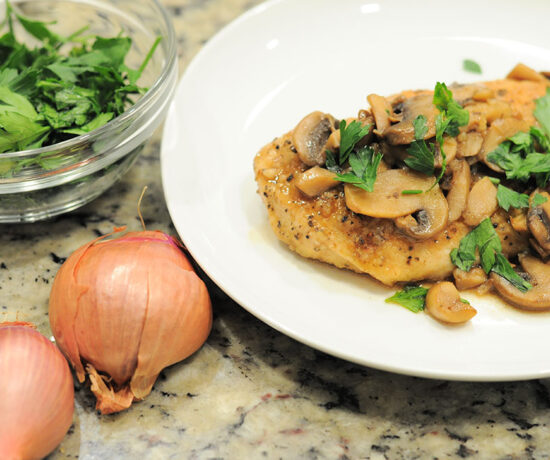 Easy Chicken Marsala Recipe via Sarenabee.com