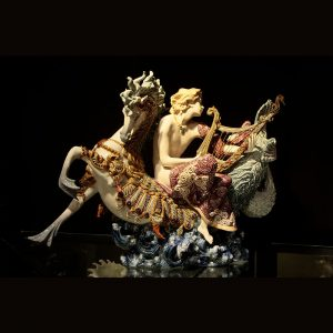 Wiener Museum Lladro Arion on Seahorse