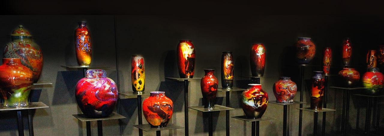 Wiener Museum of Decorative Arts Royal Doulton Flambe gallery