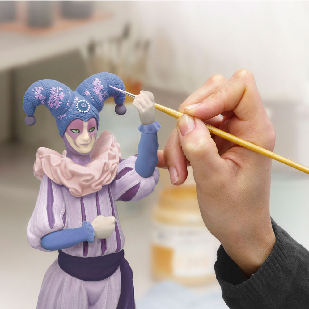 Wiener Museum Buffoon Painting Process