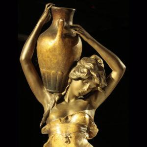 WMODA-Goldscheider Vase Carrier #2238 by Haniroff c.1901