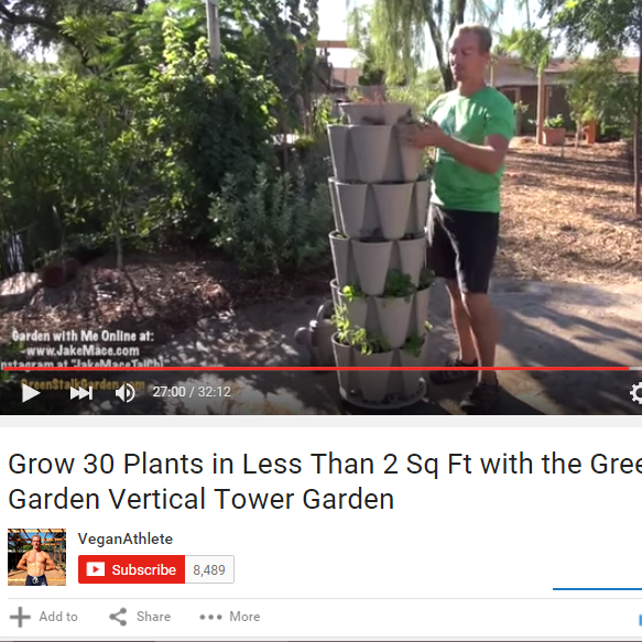 GreenStalk Video Review from the Vegan Athlete!