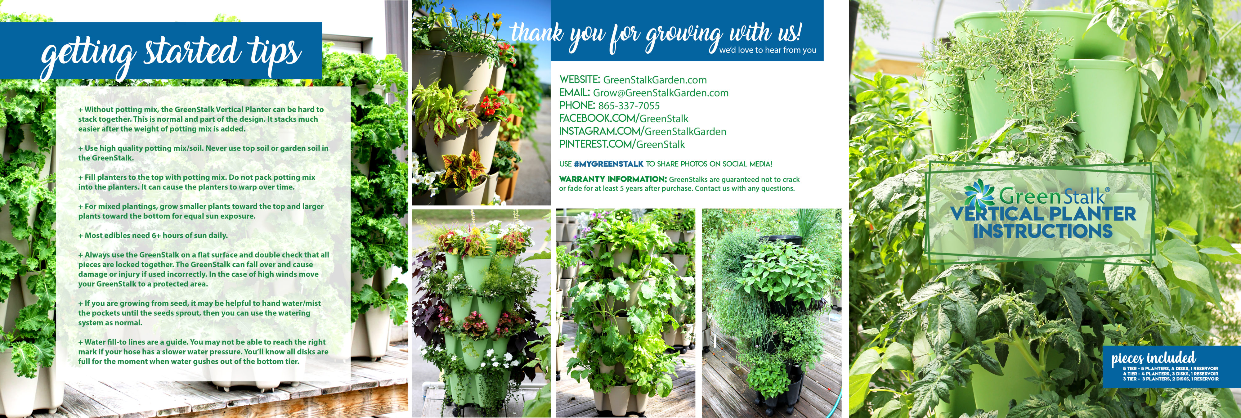 Instructions | GreenStalk Vertical Garden