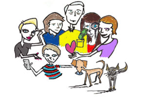 family drawing color 1Bjpg