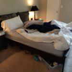 Dirty Bedroom