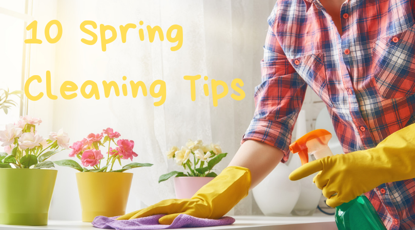 10 Spring Cleaning Tips