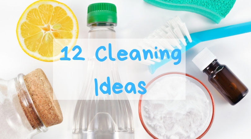 12 Spring Cleaning ideas