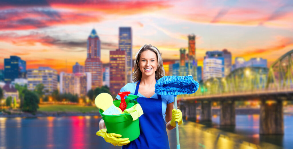 Professional Residential Cleaning Lady and Maid services in Portland, Oregon. Providing standard cleans, recurring cleans, green cleaning and more!
