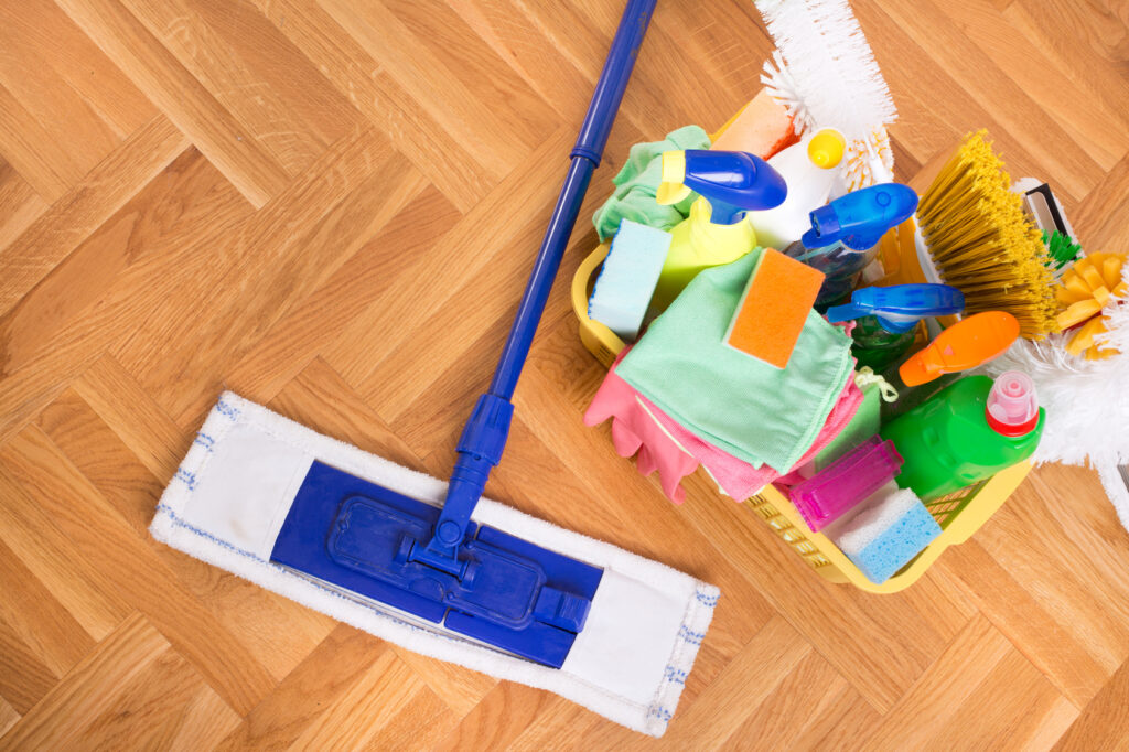 Weekly Maid Service supplies with clean arrival