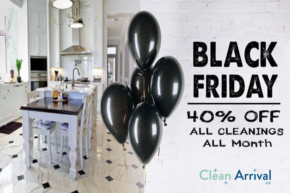 black friday cleaning sale