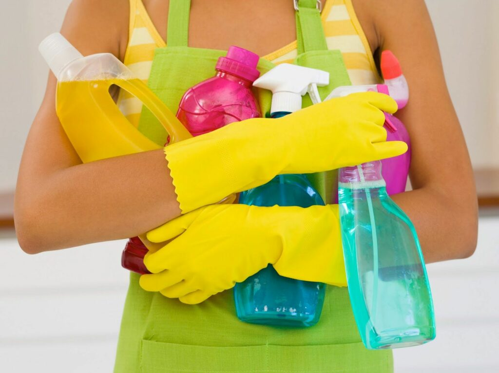 dangerous cleaning ingredients in your home